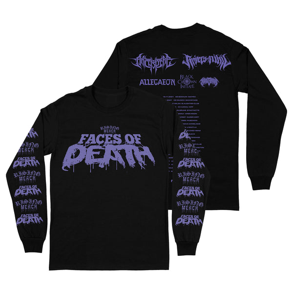 Rising Merch Faces Of Death Tour Longsleeve Bundle (01/12/2021 Manchester, UK)