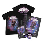 Rising Merch Faces Of Death Tour Tshirt Bundle (29/11/2021 Glasgow, UK)