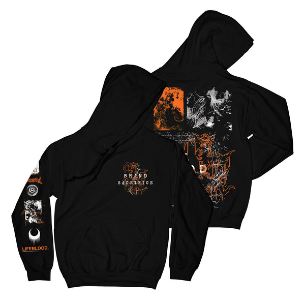 Brand Of Sacrifice - Shattered Hoodie