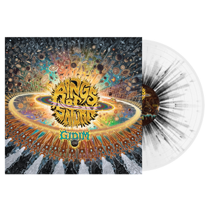 Rings Of Saturn - Gidim Black/White Splatter Vinyl