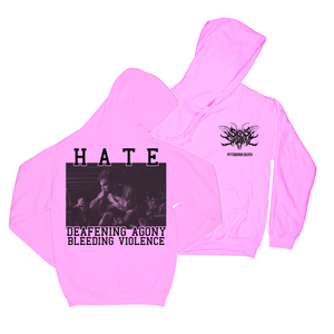 Signs Of The Swarm - Hate Pink Hoodie