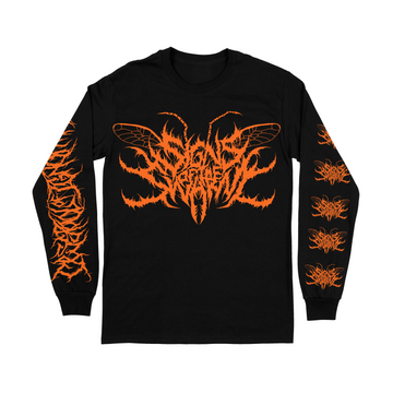 Signs Of The Swarm - Orange Logo Long Sleeve
