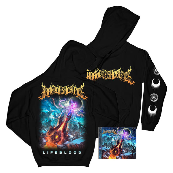 Brand Of Sacrifice - Lifeblood Hoodie/CD