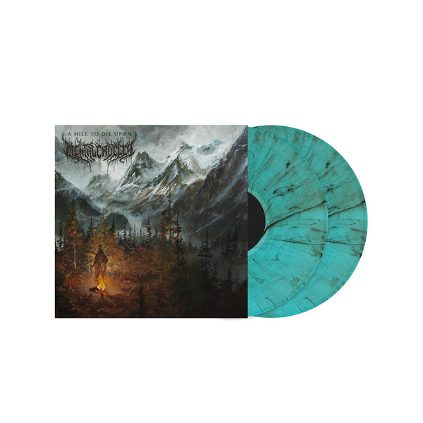"Mental Cruelty - A Hill To Die Upon 12"" Marbled Ice Blue"