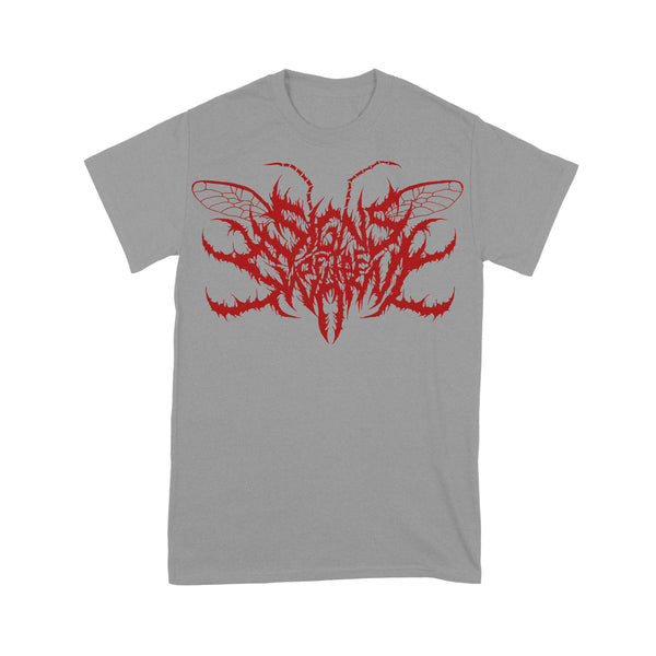 Signs Of The Swarm - Logo Grey Shirt
