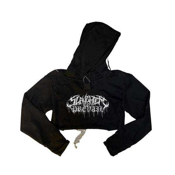 Slaughter To Prevail - Logo Chained Cropped Hoodie