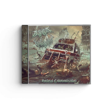 Vulvodynia/Acrania - Societal Lobotomisation Split CD