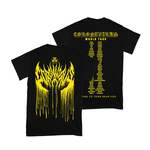Coronavirus World Tour Shirt