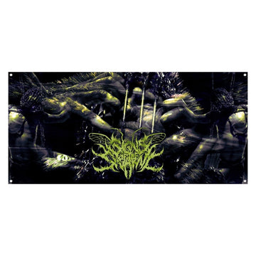 Signs Of The Swarm - Pernicious Wall Flag
