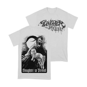 Slaughter To Prevail - Satanic Offering white Shirt