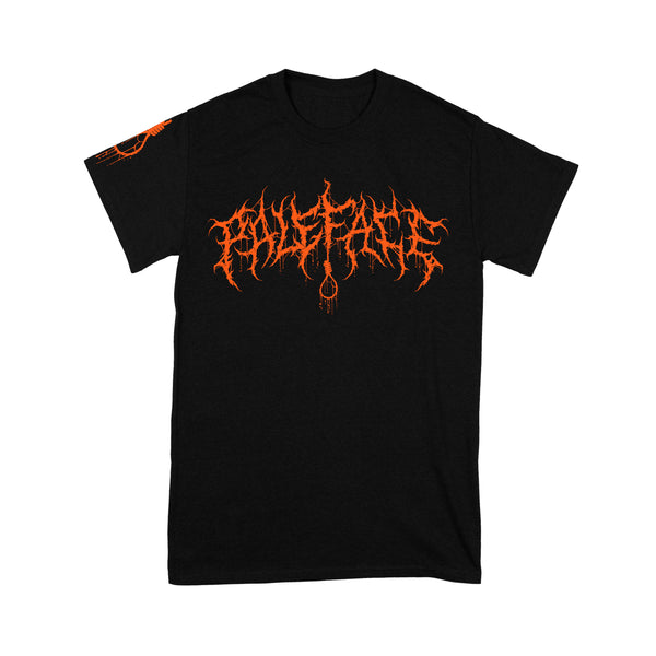 Paleface - Orange Logo Shirt