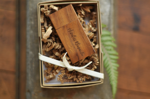 Wooden Flash Drives