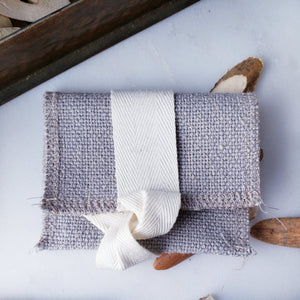 Mini Linen Flash Drive Pouch (4 Colors)