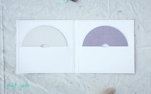 White Kraft Double CD Sleeve (Discontinued)