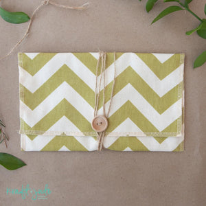 Fabric Print Pouches (20 colors)