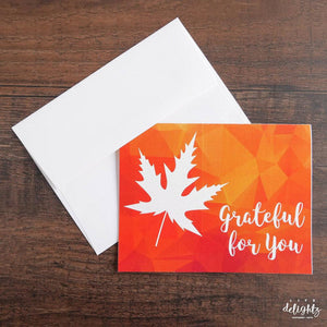 Grateful For You Speciality Card