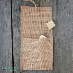 Burlap Flash Drive Pouch (8 colors)