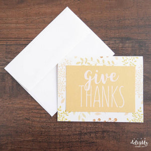 Give Thanks Specialty Card