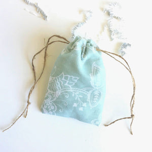 Drawstring Flash Drive Pouch