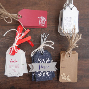 Holiday Gift Tags (8 Pack)