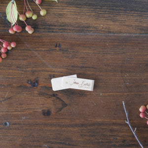 Swivel Wooden USB Flash Drive