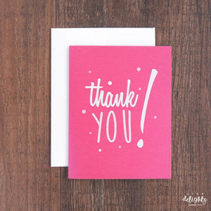 Thanks For the Referral Empowerment Notecards (14 colors)
