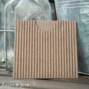 Corrugated Single CD Sleeve