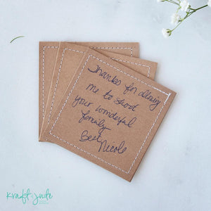 Stitched Cards (Pack of 3)