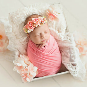 Extra Soft Stretch Newborn Photography Wrap