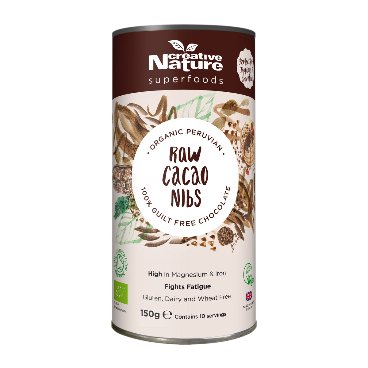 Creative Nature Organic Cacao Nibs (300g)