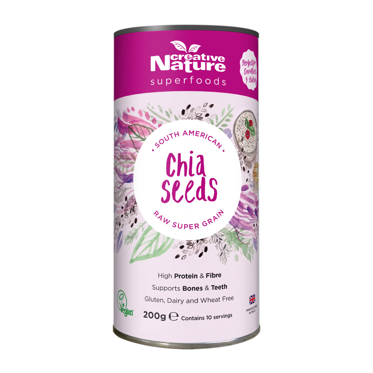 Creative Nature Chia Seeds (200g)