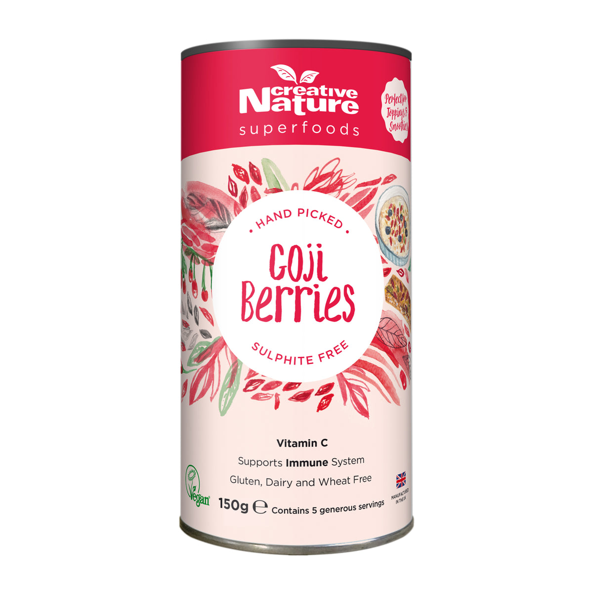 Creative Nature Ningxia Goji Berries (300g)