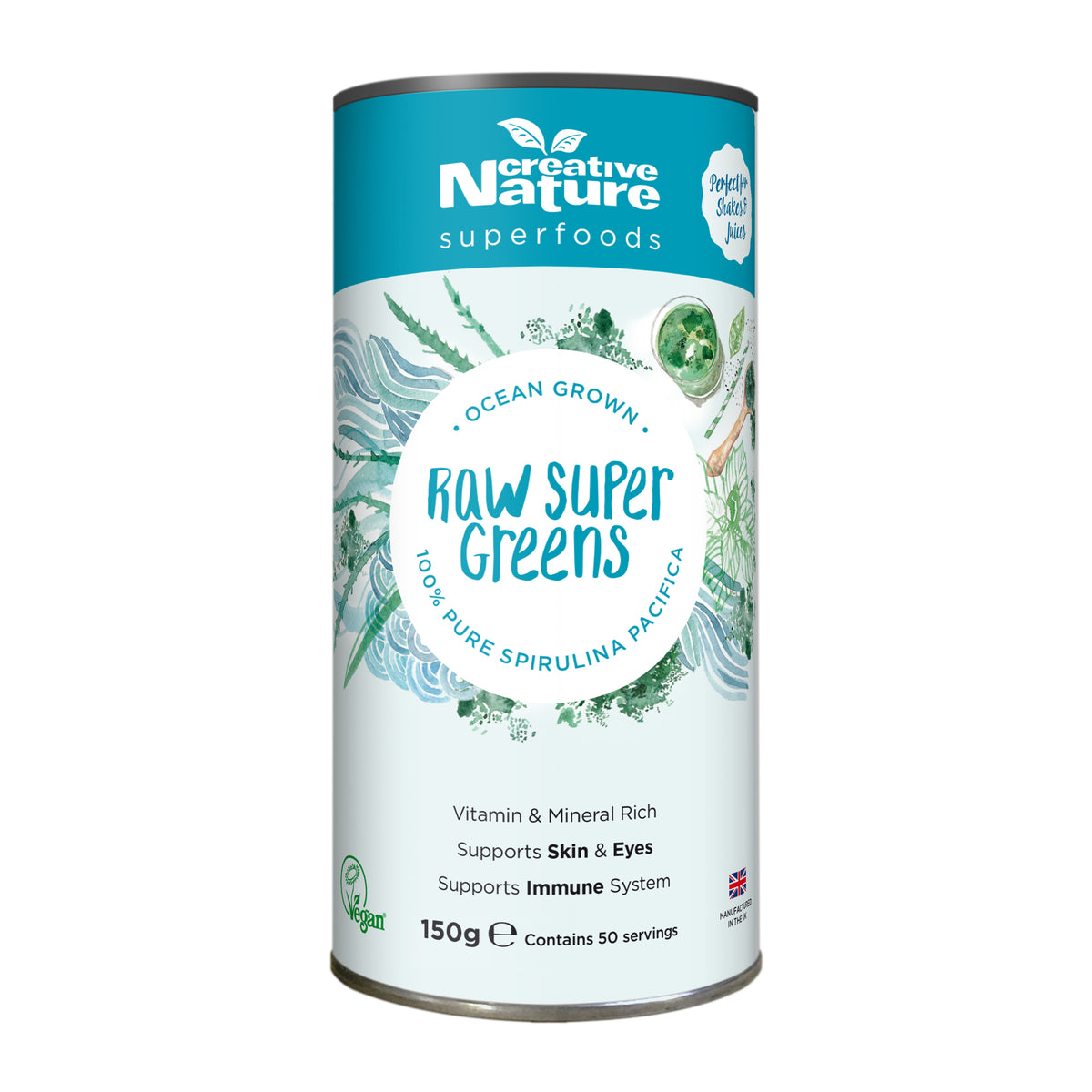 Creative Nature Hawaiian Spirulina Powder (300g)