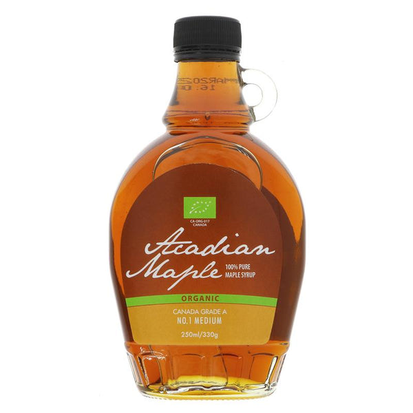 Acadian Maple Grade A Amber Rich (250ml)