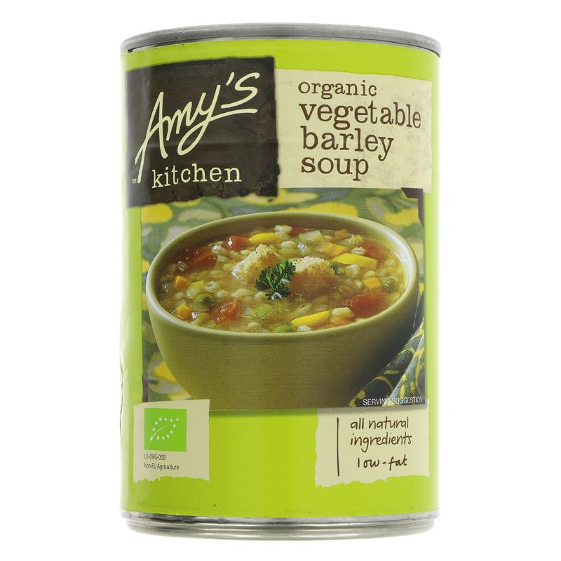 Amys Kitchen Vegetable Barley Soup (400g)