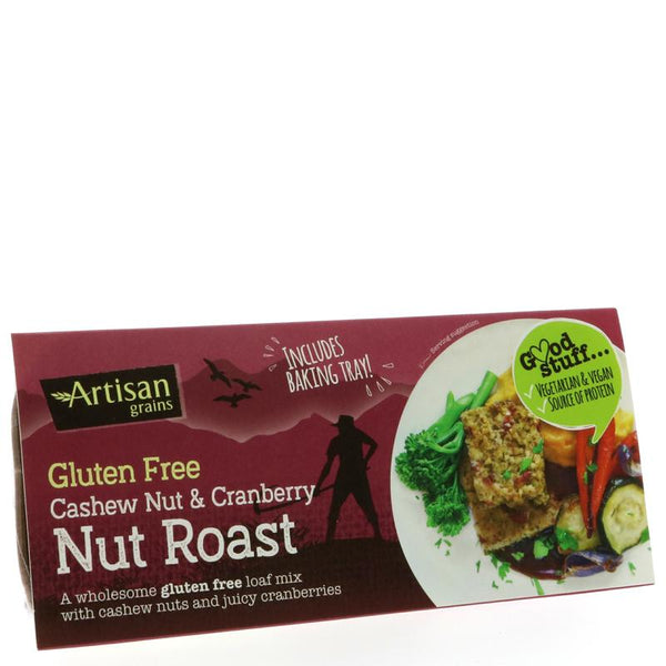 Artisan Grains Nut Roast - Cashew & Cranberry (200g)