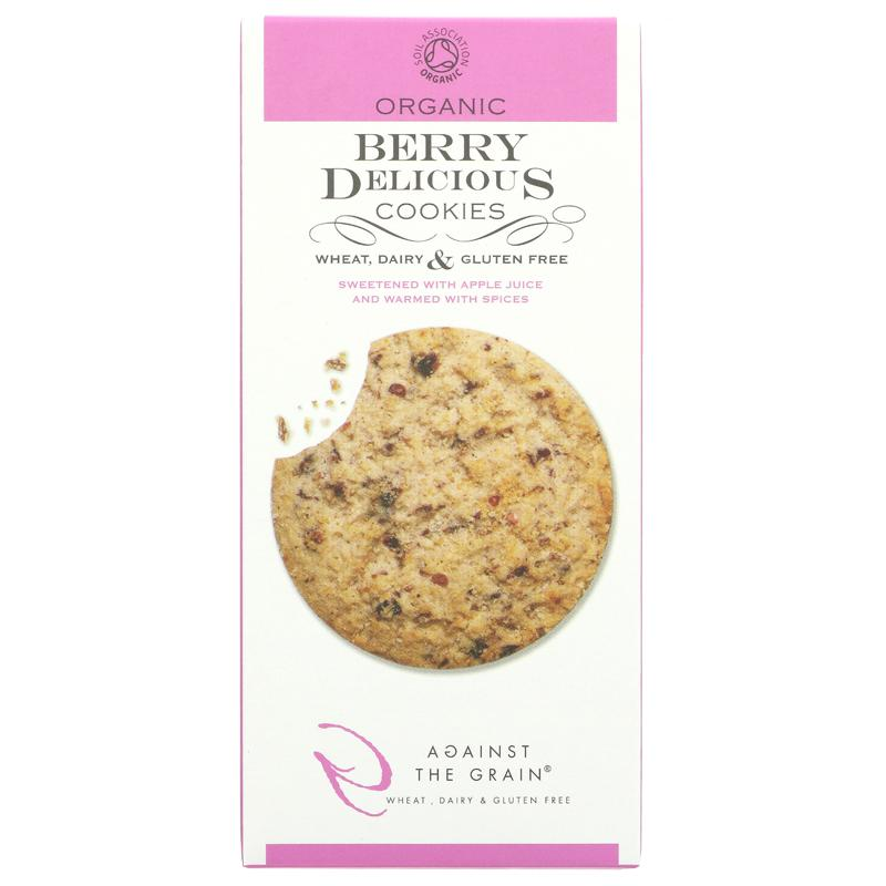 Against The Grain Organic Berry Delicious Cookies (150g)