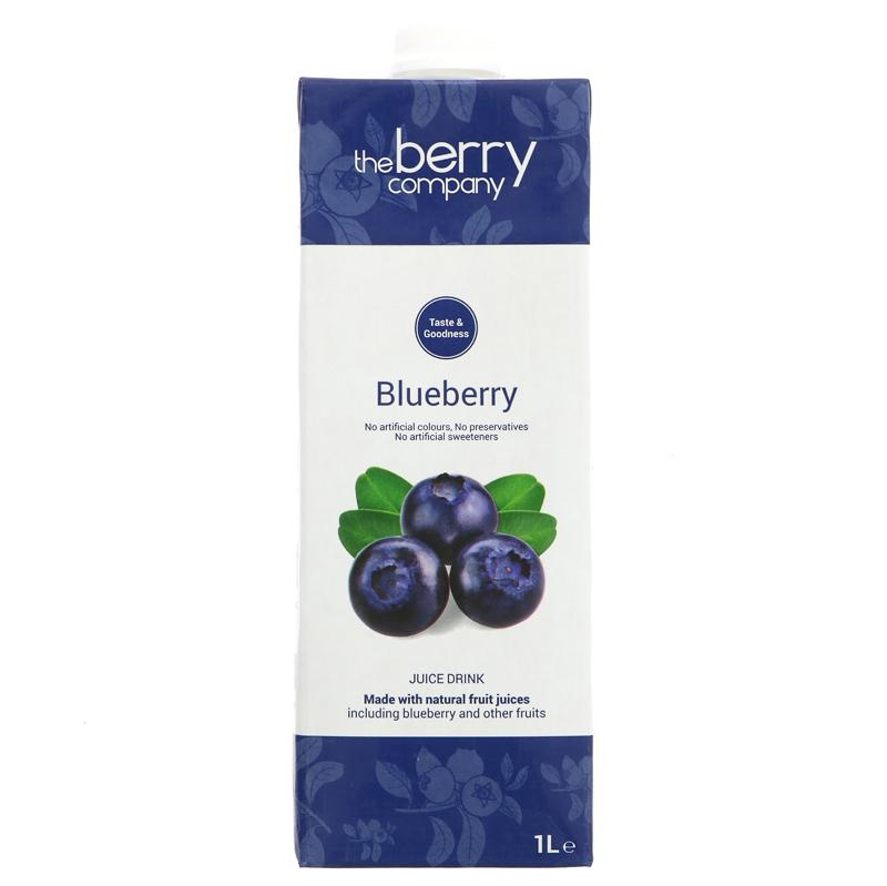 Berry Company Blueberry Juice Drink - 1L