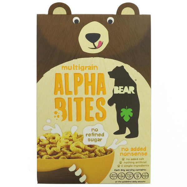 Bear Alphabites Cereal - Multigrain (350g)