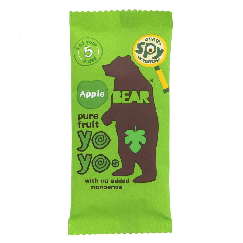 Bear Yoyo Pure Fruit Rolls - Apple (20g)