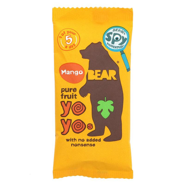 Bear Yoyo Pure Fruit Rolls - Mango (20g)