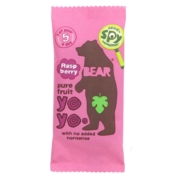 Bear Yoyo Pure Fruit Rolls-Raspberry (20g)