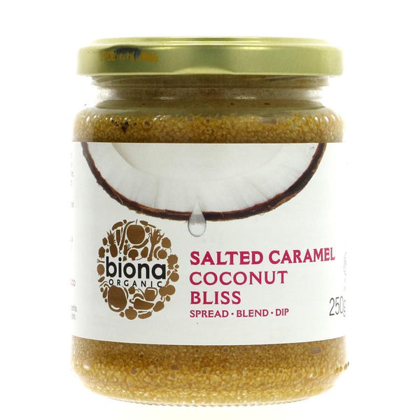Biona Coconut Bliss - Salted Caramel (250g)