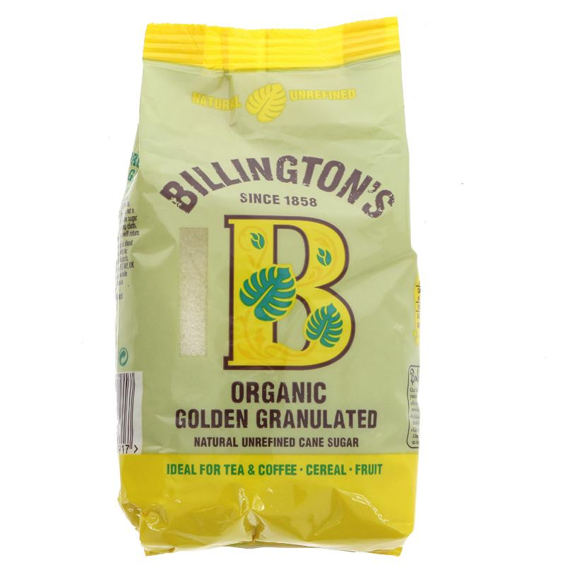 Billingtons Granulated Sugar - Organic (500g)