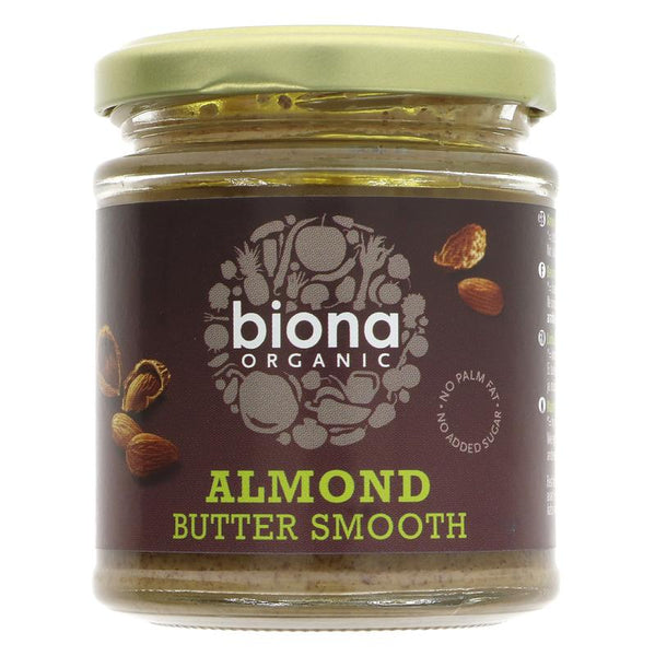 Biona Almond Butter Smooth Organic (170g)