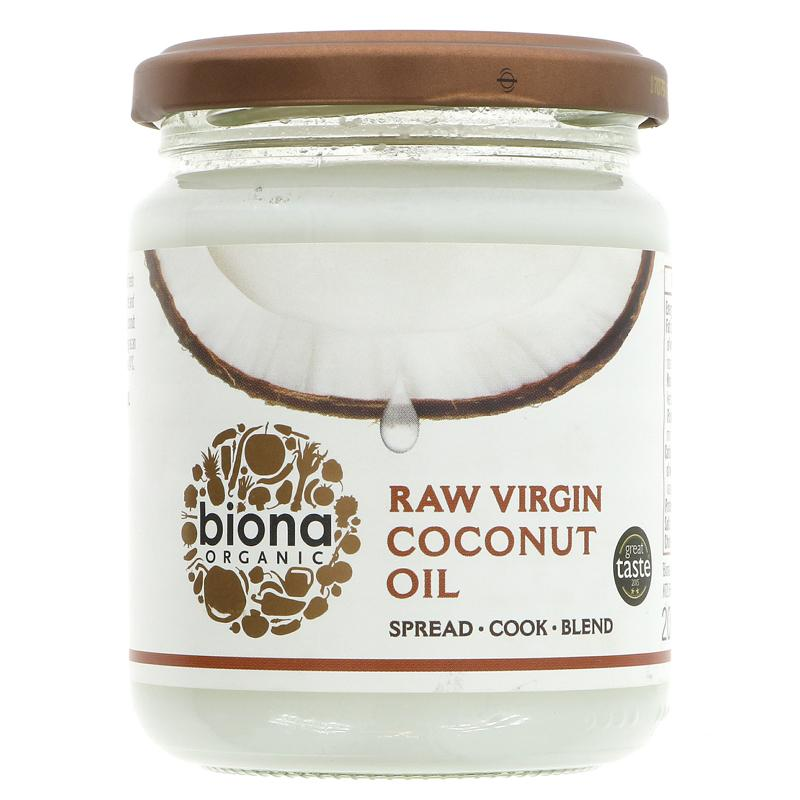 Biona Virgin Coconut Oil Organic  (200g)