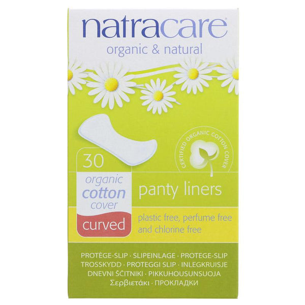 Natracare Panty Liner Curved (x30)