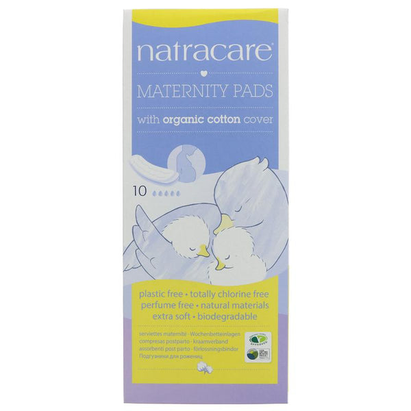 Natracare New Mother Maternity Pads (x10)
