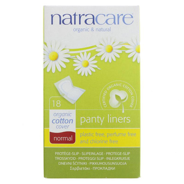 Natracare organic Cotton Wrapped Panty Liner (x18)