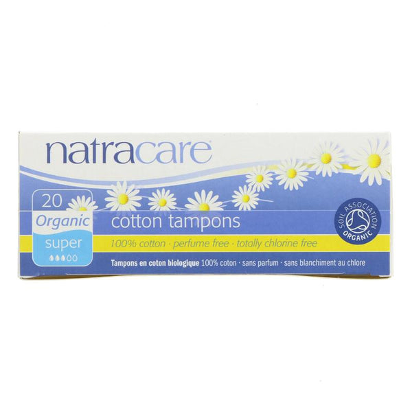 Natracare Tampons Super - Organic (x20)